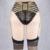 Jlx. arnés liguero de champán/body cage ligas/body harness liguero/ligas lingerie/liguero p0175