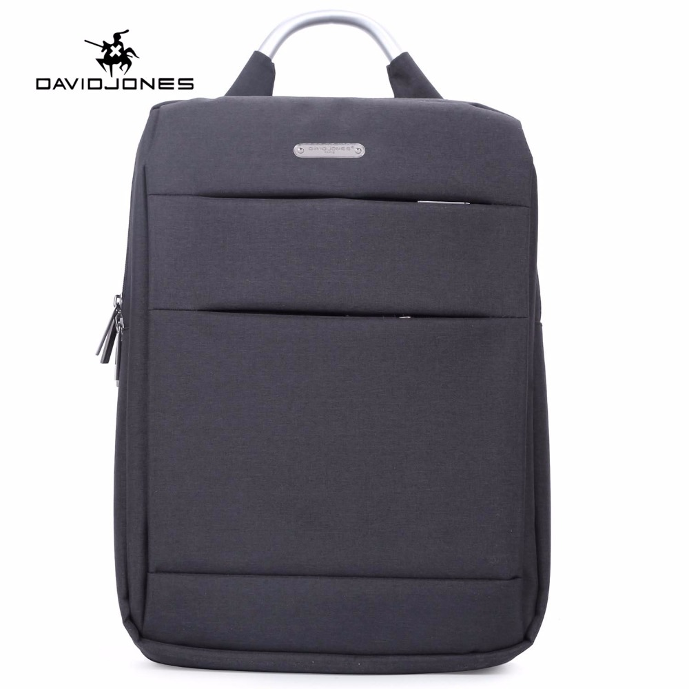 DAVIDJONES Top-handle Large Capacity Backpack Bag For Laptop Backpack Bag Men Women Femi ...