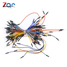 65pcs Breadboard Jumper Cables For Arduino Jump Code Wire Kit Set Breadboard Wires Connector Wholesales