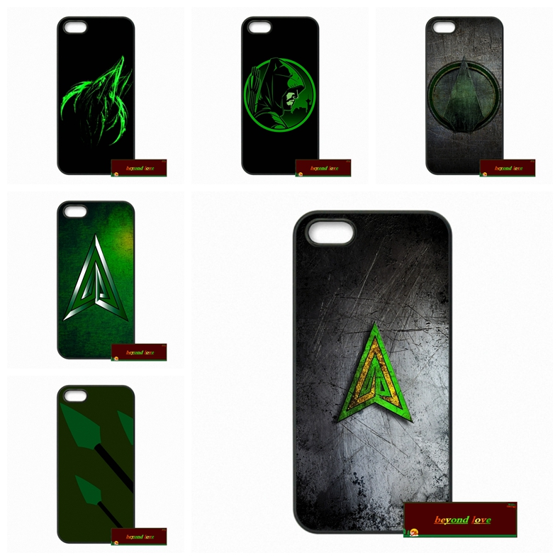 Phone Cases Cover For iPhone 4 4S 5 5S 5C SE 6 6S 7 Plus 4.7 5.5 Justice League Green Arrow Oliver Queen Case Cover