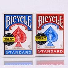 Шт. 1 шт. синий/красный велосипед игральные карты Rider сзади стандартный колоды карт
