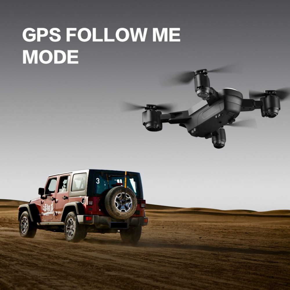 C FLY Dream 5G Altitude Hold Drone GPS Optical Flow Positioning Follow Me RC Quadcopter with 720P HD Camera One Key Return - 3