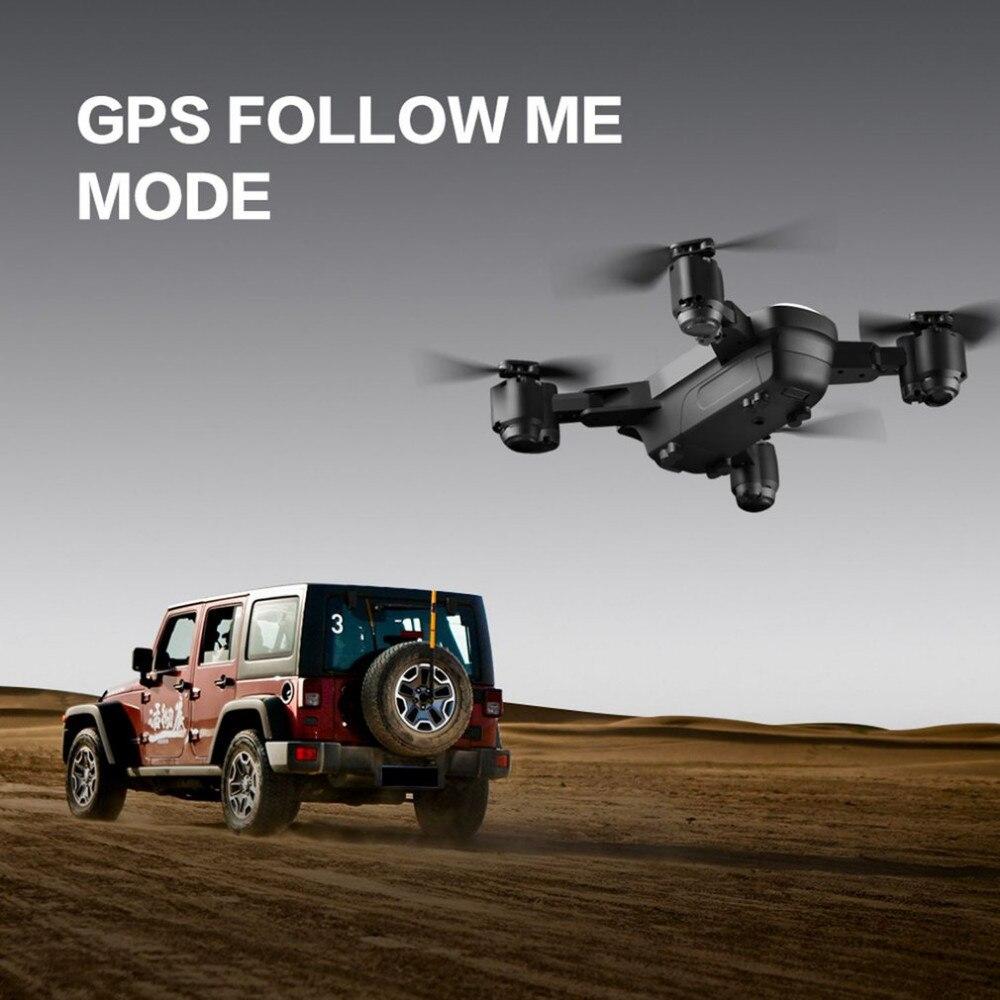 C FLY Traum 5G Höhe Halten Drone GPS Optischen Fluss Positionierung Folgen Mich RC Quadcopter mit 720P HD Kamera ein Schlüssel Rückkehr - 3