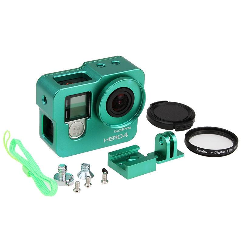 Hot Go pro Hero 4 3+ Akcesorium do aparatu, aluminiowa metalowa - Aparat i zdjęcie - Zdjęcie 6