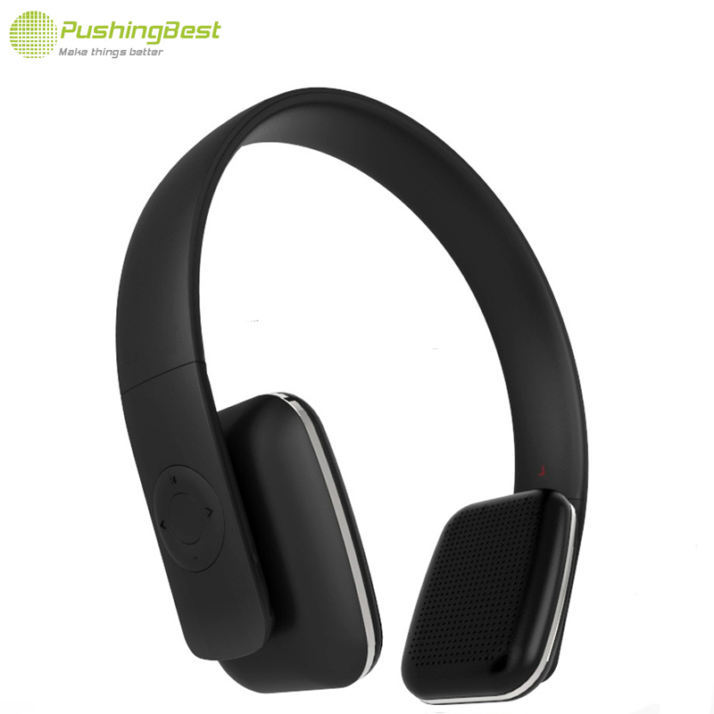 pushingbest bluetooth kopfh rer wireless headset stereo. Black Bedroom Furniture Sets. Home Design Ideas