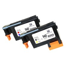 YI LE CAI 2pk Compatible Printhead for HP 940 C4900A Print head for HP940 Pro 8000 A809a 8500A A910a A910n A809n A811a 8500 4 pack 940 xl 940xl ink cartridges cartridge for hp hp940 hp940xl officejet pro 8000 a809a a811a a809n 8500 8500a inkjet printer
