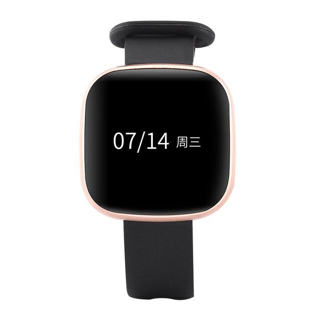 38efa3b05b1 Women Watch Gold Bracelet Ladies LED Digital Touch Screen Sport Smartwatch  Casual Wristwatch For Apple Android relogio feminino
