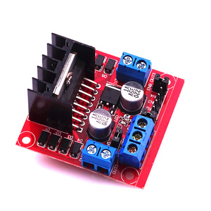 Image 2 - 10pcs L298 Motor Driver Board Module Stepper Motor Robot Car L298N Peltier High Power Breadboard For Arduino Motor Driver