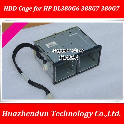 DL380G6 388G7 380G7 H P Serveur HDD Cage SSD Plateau caddy Le Serveur Support B496074-001 516914-B21