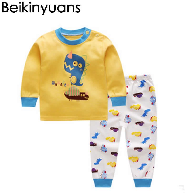 Children's Pajamas Set Boy Underwear Suit Boys Girls ...