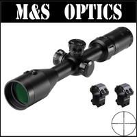 Outdoot hunting Optics scope MARCOOL Existent 3 9x42 airsoft air guns rifescope Integrated Red Laser MAR 007