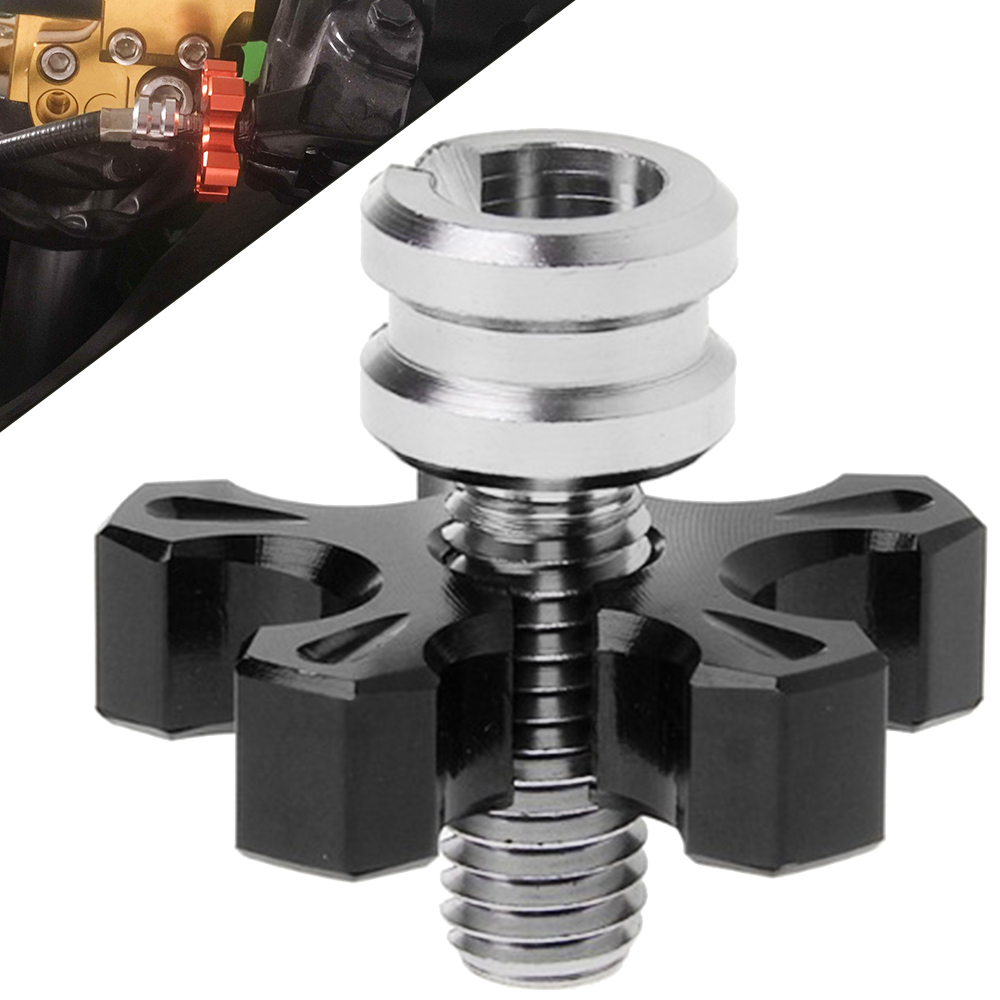 Motorcycle Accessories CNC Billet Clutch Cable Wire Adjuster FOR <font><b>SUZUKI</b></font> <font><b>GSX1400</b></font> GSX1250 F/SA/ABS GSF650 GSF650S GSF650N BANDIT image