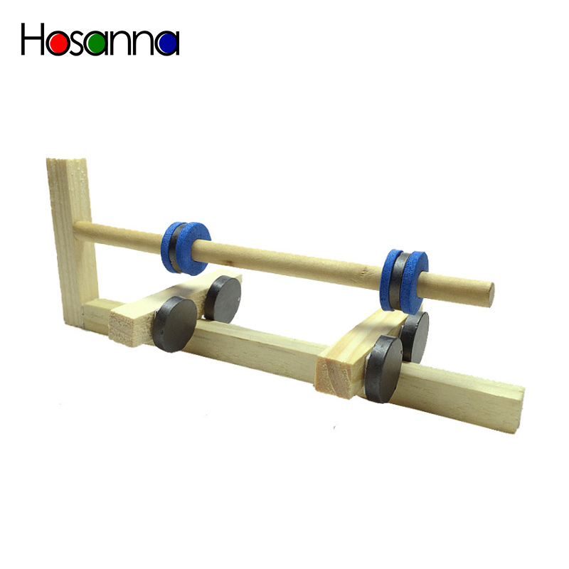 Science Wooden Kids Toys Magnetic Levitation Floating DIY Kit Experiment Discovery Amazing Assembling Educational Toys For Child