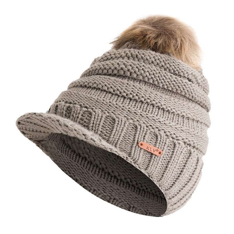8c4357848 NIBESSER Turban Wrap Ponytail Hats Crochet Ski Hat For Women Women...