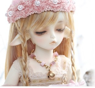 Free Shipping soom Ai Winnie Dee fawn bjd / sd doll 1/6bb volks luts doll(include makeup and eyes)