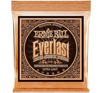 Ernie Ball 2550 Ever Last Phosphor Extra Light Acoustic Guitar Strings 010 050