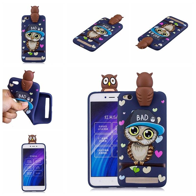 note 5 phone cases KeFo For Xiaomi Redmi 5A Note 5A Phone Cases 3D Squishy Animals Case Silicone Cover for Xiaomi Mi 5X MiA1 Mi5X (9)