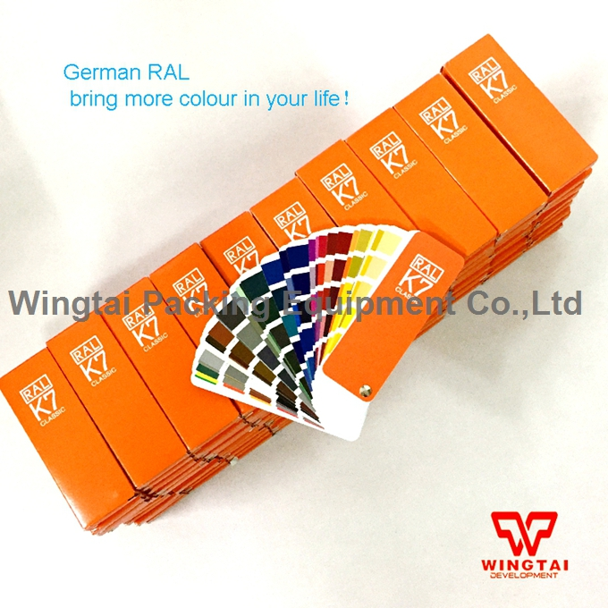 German RAL 213 kinds of colors Classic Colours Color chart RAL K7 original authentic germany ral k7 color chart