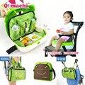 Ó! machi 3In 1 Saco de Assento Do Bebê Portátil E Mami Bolsa De Bebê Saco de Cadeira de Jantar Assento