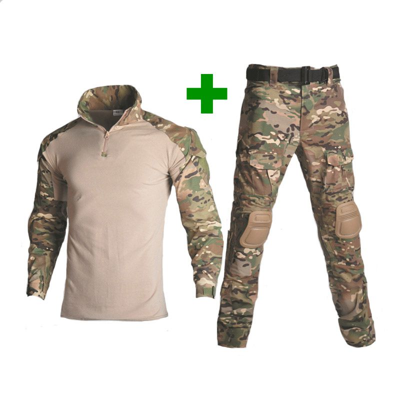 Tactical Paintball Tactical Military Men Army Sport Uniform Camouflage Combat Suit Multicam Clothing Hunter Fishing Shirt Pants-in Hunting Ghillie Suits from Sports & Entertainment on AliExpress - 11.11_Double 11_Singles' Day 1
