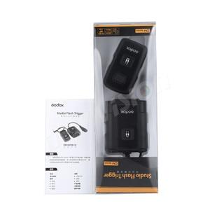 Image 5 - Godox DM 04 Wireless Estúdio Gatilho Flash para Canon, Nikon, Pentax, Olympus, Samsung, 4 Canais, cabo de Alimentação AC, Velocidade de sincronização 1/200 s