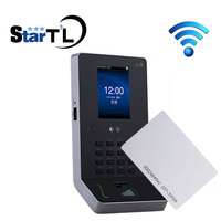 Free Shipping Fingerprint Time Attendance and RFID 125Khz Card Biometric Employee Tracking System ZK UF600