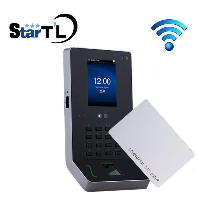 Livraison gratuite temps de présence d'empreintes digitales et RFID 125 Khz carte biométrique système de suivi des employés ZK UF600