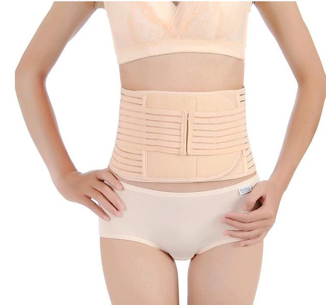 3891597471 hot shapers women double-deck Breathable Cummerbund Slimming Belt Body  Shaper Corset Waist Trainer Slim Underwear Waist Cincher