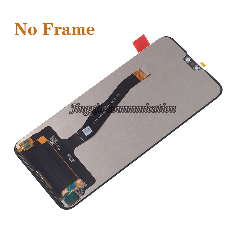 Image 4 - Original display with frame For Huawei Y9 2019 LCD touch screen digitizer assembly for Y9 2019 JKM LX1 LX2 LX3 lcd repair parts-in Mobile Phone LCD Screens from Cellphones & Telecommunications