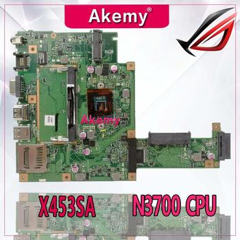 Akemy X453SA Laptop motherboard for ASUS X453SA X453S X453 Test original mainboard N3700 CPU