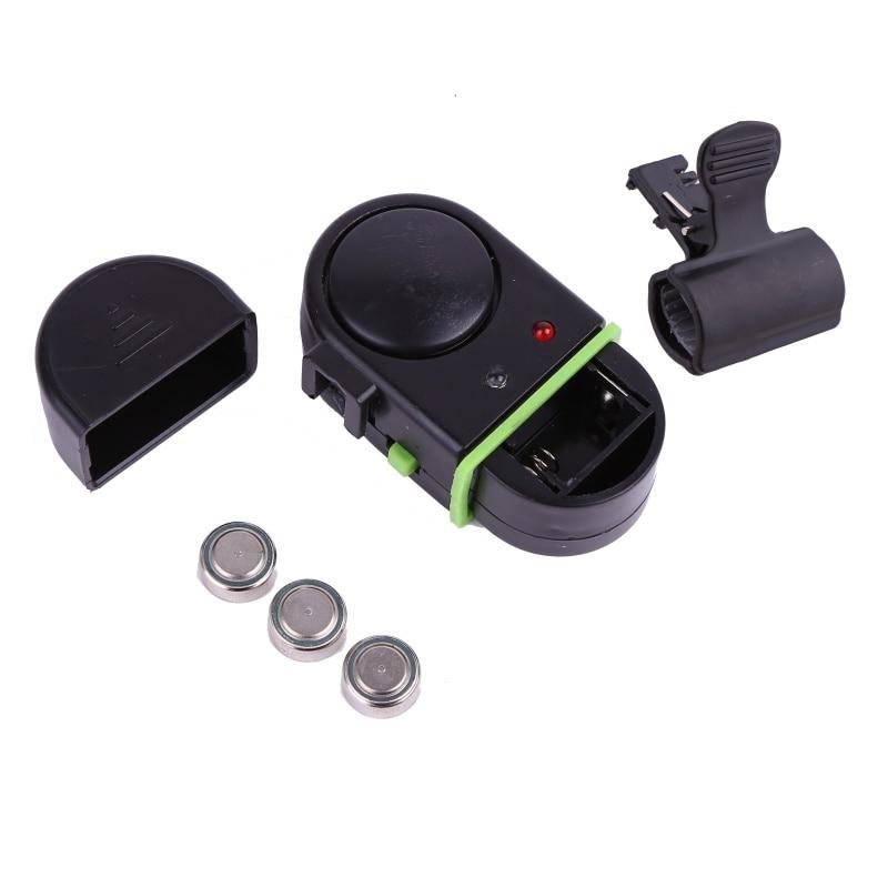 Fishing Alarm Water Resistant With Indicator Banding Sensitivity Sound Alert Fishing Bite Alarm Fishing Rod Pesca New