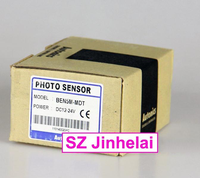 100% Authentic original BEN5M-MDT AUTONICS PHOTOELECTRIC SWITCH br3m mdt br3m mdt p