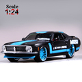 Maisto 1970 Ford Mustang Boss 302 1:24 Alloy Car Model Toys Diecasts & Toy Vehicles Collection Kids Toys Gift