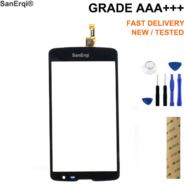SanErqi 5.0'' Touch Screen For LG L Bello D331 D335 D337 Digitizer Outer Glass Sensor LCD Display