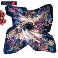 Бесплатная доставка Осень и Зима мода повседневная женщины écharpe шарф кешью долго шифона шелковый шарф женская одежда и аксессуары