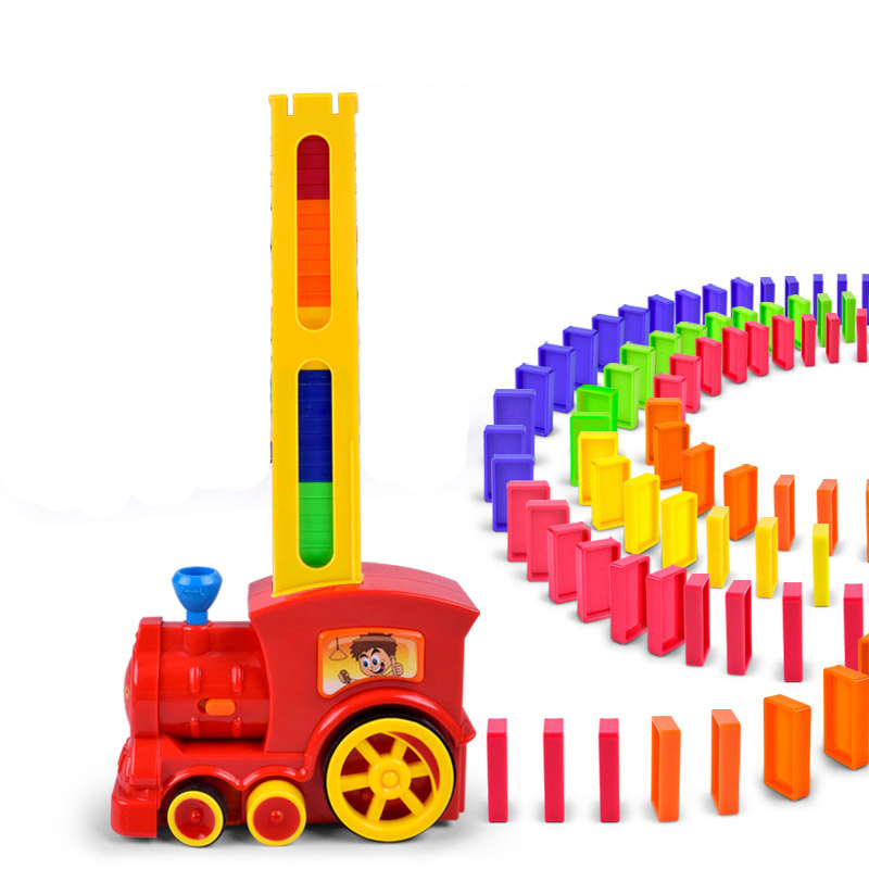 Domino bunker automatic dispenser electric train//educational toys for children/baby toys/toy/lepin building bricks/naruto/totor hot sale 1000g dynamic amazing diy educational toys no mess indoor magic play sand children toys mars space sand
