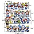 Doraemon figures 4.3CM-7CM 24pcs/lot Nobita Nobi Figure PVC Dolls Shizuka Minamoto Takeshi Goda Dorami Doranikov 2016 NEW