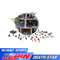2017 Lepin 05063 4016pcs Genuine New Star War Force Waken UCS Death Star Educational Building