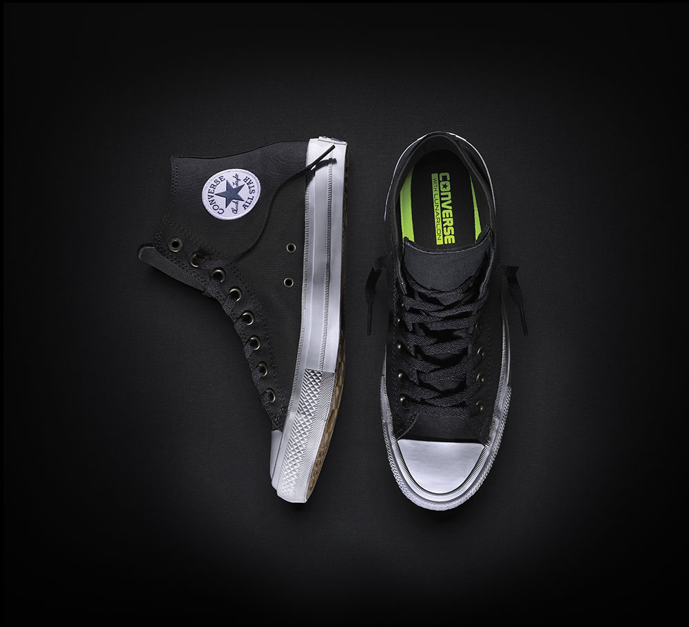 converse chuck taylor. aliexpress.com : buy new converse chuck taylor all star ii high men women\u0027s sneakers canvas shoes classic pure color skateboarding 150143c from n