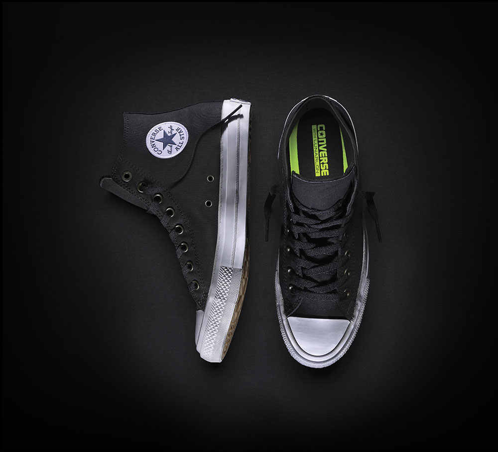 alimentar Recuento resistencia  NEW Converse Chuck Taylor All Star II High men women's sneakers canvas shoes  Classic pure color
