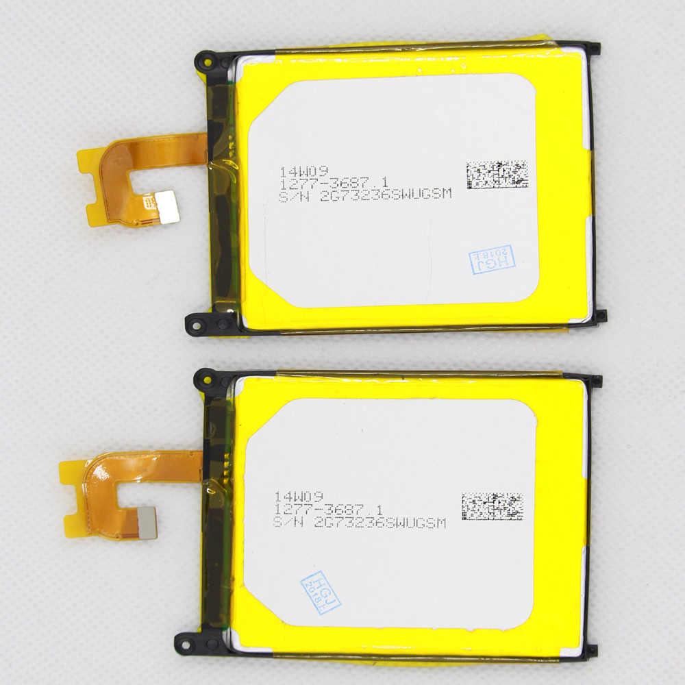 10 قطعة/الوحدة LIS1543ERPC الهاتف بطارية لسوني اريكسون Z2 L50T D6502 D6503 L50 L50W L50U 3200 mAh