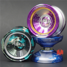 MAGICYOYO M002 April Yoyo Unresponsive Aluminum Alloy Yoyo Professional High Quality Stainless Center Bearing for  Player