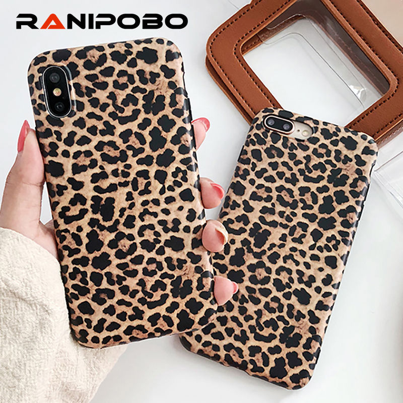 <font><b>Sexy</b></font> Cool Leopard Pattern Phone <font><b>Case</b></font> For <font><b>iPhone</b></font> SE 11 X XS XR XS Max <font><b>7</b></font> 6 6S 8 Plus <font><b>Case</b></font> Fashion Soft TPU Protection Back Cover image