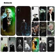 Babaite Harry Potter Draco Malfoy Black High Quality Phone Case for Apple iPhone 5 5S 6 6S 7 8 Plus X XS MAX SE XR Mobile Cover(China)