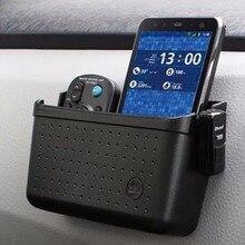 Paketler gönderilecek cep telefonları Için Cep Telefonu Bluetooth Dikmesi çerçeve Araba Saklama Kutusu Araba Konteynerler Cep 1 ...