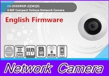 English version DS-2CD2942F-IWS 4MP wifi Fisheye Network ip security Camera with Fisheye & PTZ view