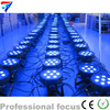 Fast Shipping 7x 12W RGBW DMX Stage Lights Business Lights Led Flat Par High Power Light