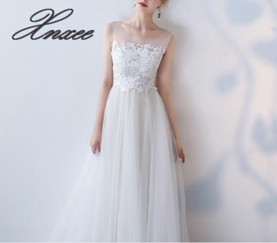 Biały na ramię długa sukienka kobiet 2019 nowy elegancki elegancki sukienka na imprezę szczupła koronki w Suknie od Odzież damska na  Grupa 3