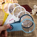 Nuevo Arrvial Lente Gobernante Lupa de Lectura lupa de Mano Mini 2 en 1 Herramienta de Reparación de Relojes Lupa