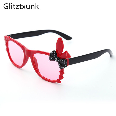 Glitztxunk2018 New Cat Eye Children Sunglasses Sports Boys Girls Babys Sunglasses Kids Sunglasses UV400 Anti-UV Fashion Eyewear Pakistan